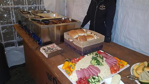 Evenement catering en Festival catering door Wood